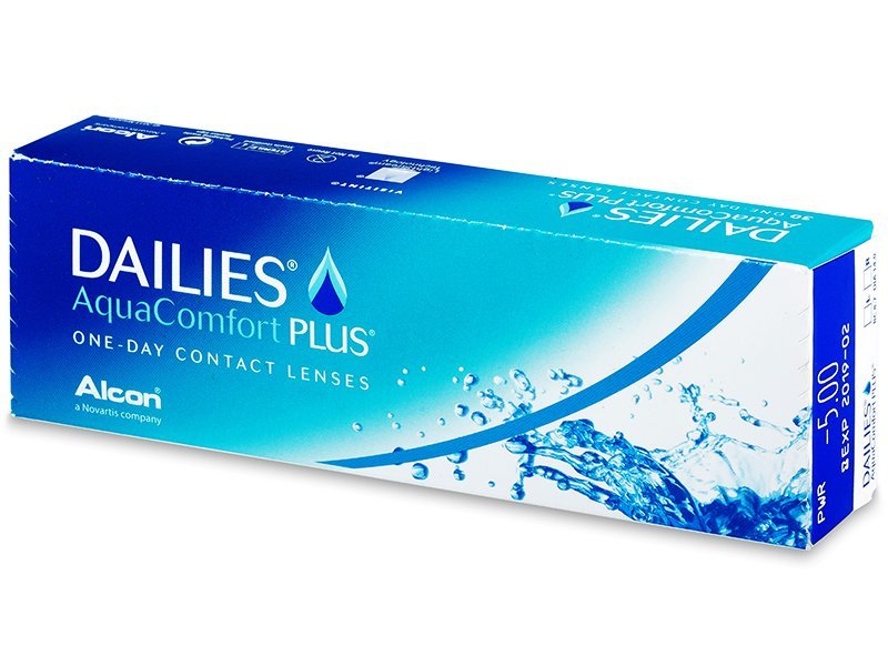 Dailies AquaComfort Plus (30 lentes)