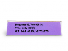 FREQUENCY XCEL TORIC XR (3 lentes)