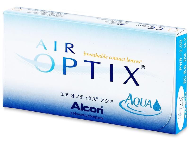 Air Optix Aqua (6lentes)