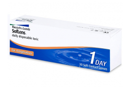 SofLens Daily Disposable Toric (30lentes) - Bausch and Lomb