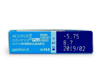 Acuvue Advance PLUS (6 lentes)