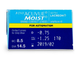 1 Day Acuvue Moist for Astigmatism (30lentes)